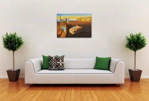The Persistence of Memory - repro Salvador Dali, pictura ulei pe panza de in 100x70cm, Magistral!. Poza 80865